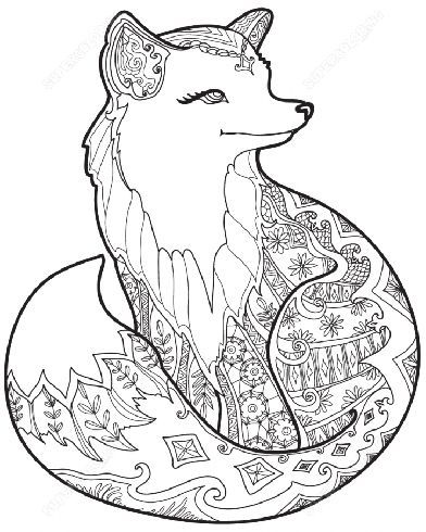 15 Best Printable Animal Colouring Pages For Kids Fox Coloring Page Mandala Coloring Pages Animal Coloring Pages