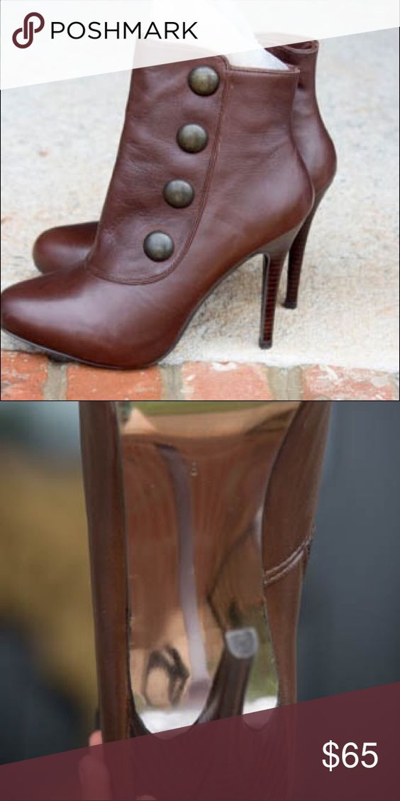 Short Boots Short Brown Booties, Never worn Steve Madden Shoes Ankle Boots & Booties