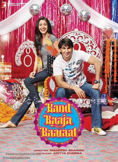 Band Baaja Baaraat 2010 Indian Movie Poster In 2021 Band Baaja Baaraat Indian Movies Movies