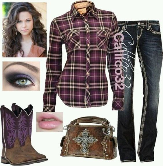 Country Girl Outfit Ideas   Cute   Country Girl Outfits