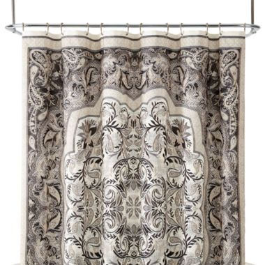 JCPenney   off select bath towels  amp  accessories  Get beautiful shower curtains  shower rods   amp  extra long shower curtains here  FREE shipping available. Royal Velvet  Sherburne Shower Curtain found at  JCPenney