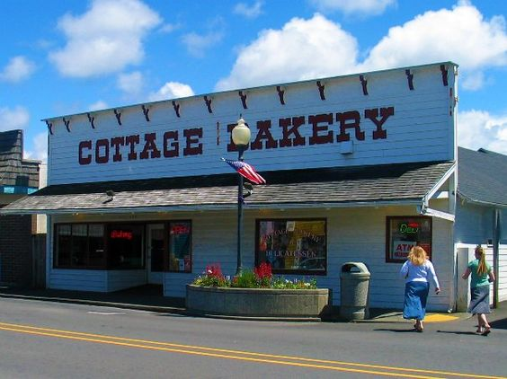 Cottage Bakery, Long Beach, Washington. Best Bakery ever!! I've actually driven there when we are staying in Seaside, Or. I've even visited with people that have driven there from Seattle!  It's the best bakery I have ever experienced. Love it too much. :)
