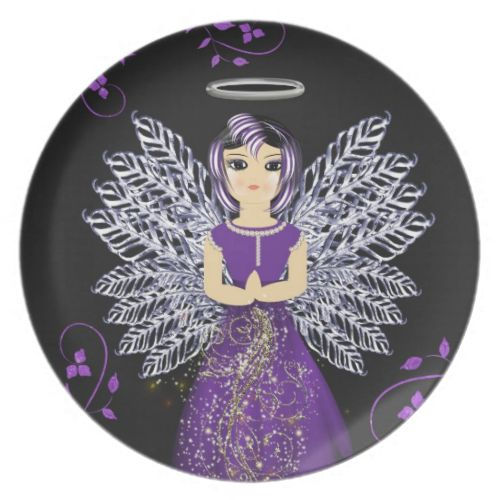 This is a lovely big eyed guardian angel in purple silver/white you will always feel safe with her around. #wedding #new #home #gifts #presents #wedding #gift #ideas #new #home #gift #ideas #kitchenware #home #decor #kitchen #dining #purple #silver #angel #guardian #angel #cute #big #eyes #big #eyed #pretty #girly #girls #religious #angel #wings #pray #prayers