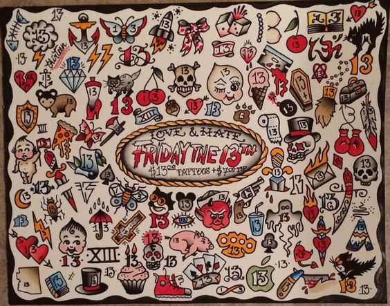 Friday 13th Tattoo Ideas: Friday The 13th Tattoo, Friday The 13th And Tattoos And
