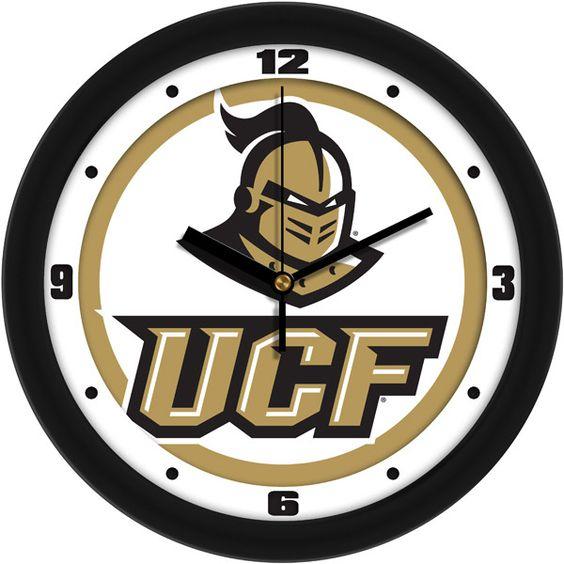 Mens Central Florida Knights - Traditional Wall Clock