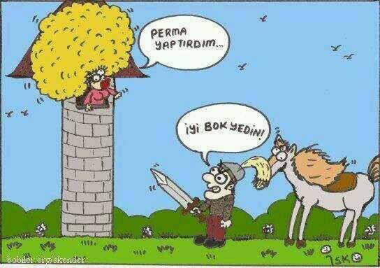 permapunzellll karikatür: