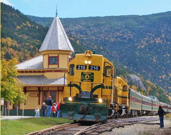 Conway Scenic Railroad - New Hampshire USA