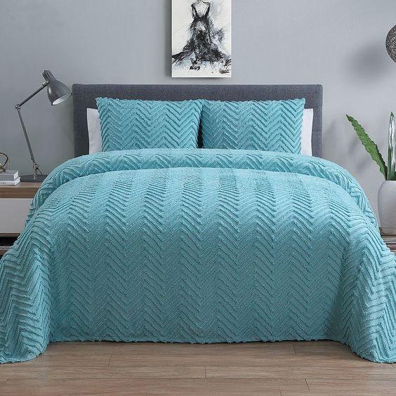 Vcny Antigua 3-piece Bedspread Set,