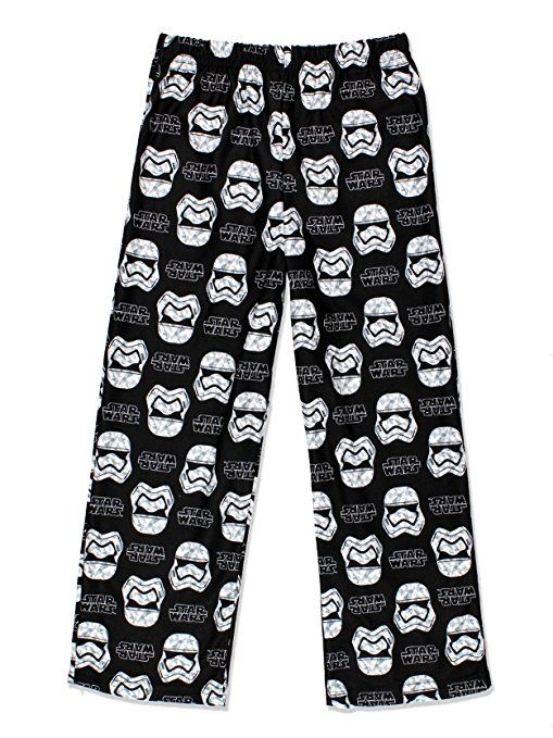 Disney Star Wars Stormtrooper Boys Flannel Pajama Lounge Pants