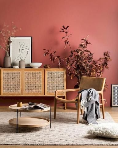 The Terracotta Trend 4 Ways Warm Earthen Tones For Your Interior Interieur Woonkamer Rood Interieur Huis Interieur
