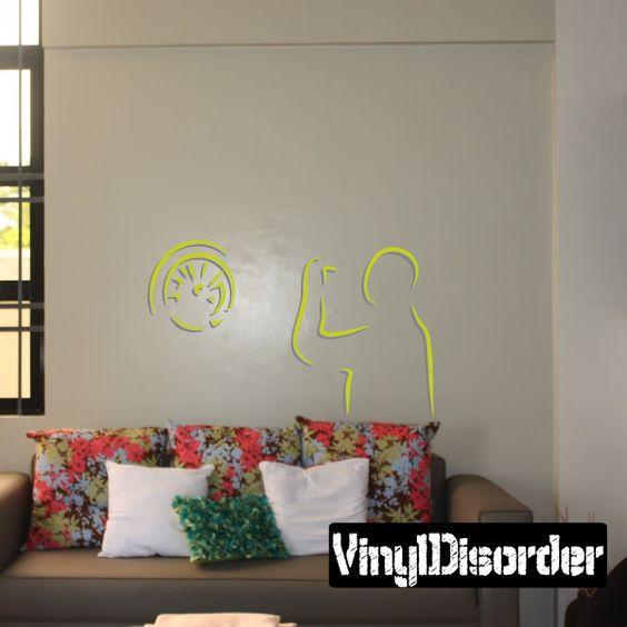 Darts Wall Decal - Vinyl Sticker - Car Sticker - Die Cut Sticker - CDScolor0009