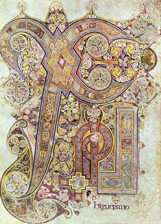 I love the book of kells for lots of reasons... and I love the light feeling of the beauty of the knots..