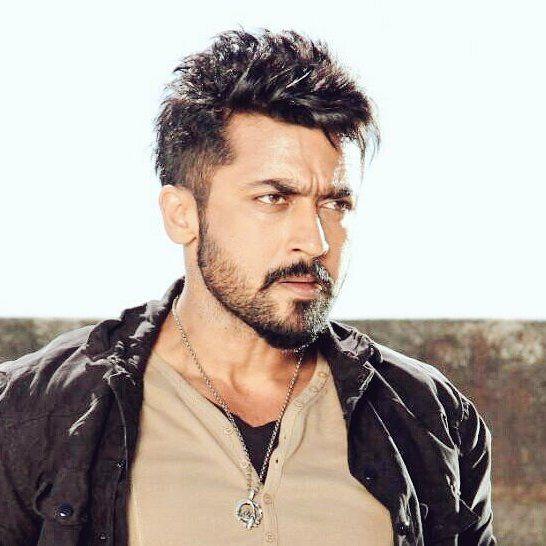 Massoverloaded Suriya Rajubhai Anjaan Surya Sivakumarfb Team Suriya Fans Ssmusicofficial Nadipin Nayaka Long Hair Styles Men Surya Actor Beard Styles