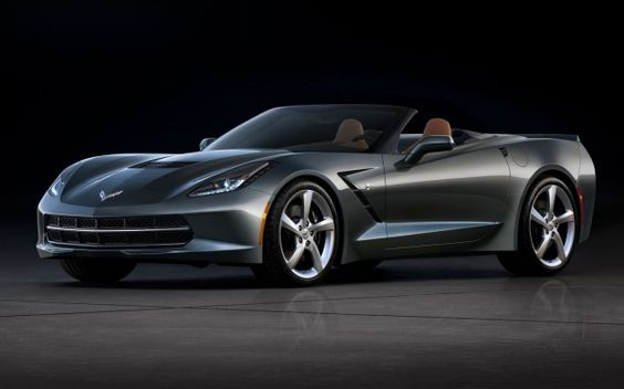 2014 Chevrolet Corvette Stingray Convertible Front Quarter Photo on March 1, 2013