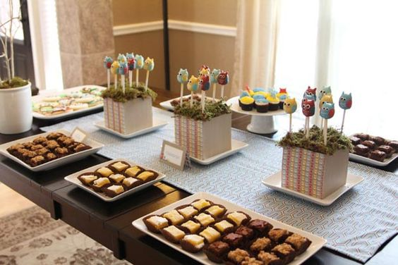 Whooo wouldn't like this baby shower?