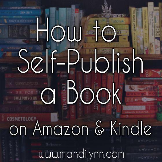 How To Self Publish A Book On Amazon And Kindle Using Createspace Mandi Lynn Author Youtube Personality Self Publishing Publish Book Amazon Book Publishing Companies