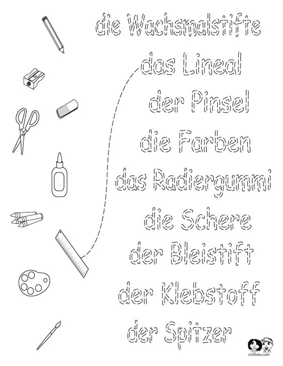 worksheets german school german worksheets for children deutsch f r kinder. Black Bedroom Furniture Sets. Home Design Ideas