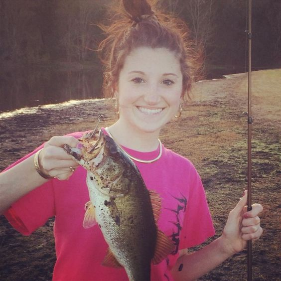 Kendra's First Bass by Kendra G. on American Expedition