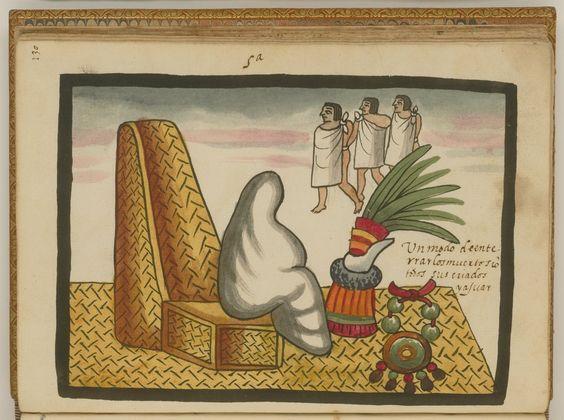 La costumbre del entierro azteca — Visor — Biblioteca Digital Mundial