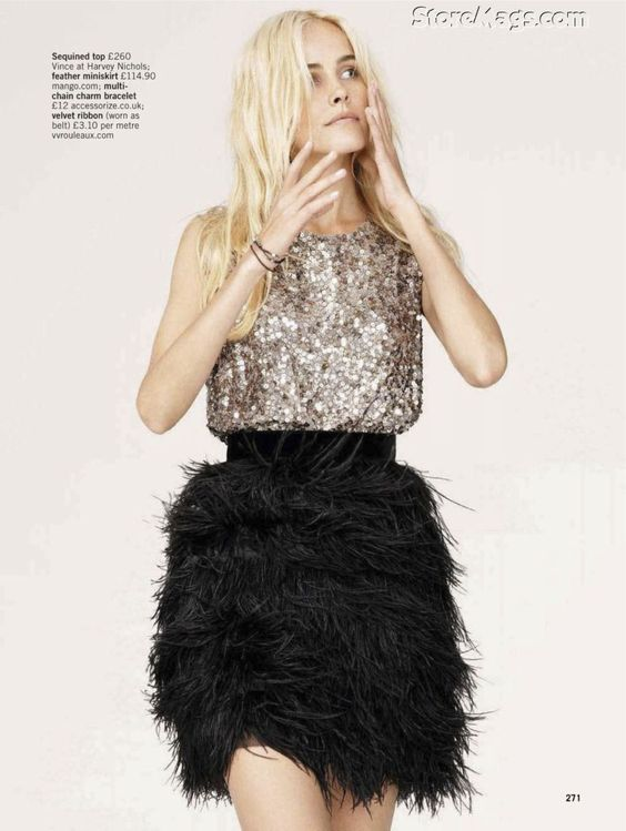 Isabel Lucas for Glamour UK December 2011