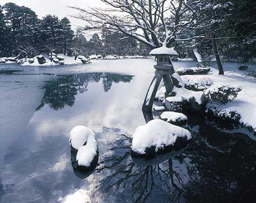 Kenrokuen Garden, Ishikawa Prefecture.