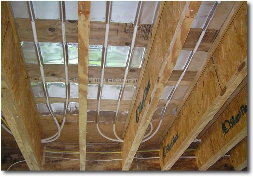 Retrofit Your Home With Radiant Heating Within Joists Installation Hydronic Radiant Floor Heating Radiant Heat Radiant Floor Heating