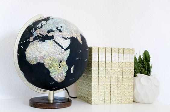 DIY Globus Tafellack                                                                                                                                                      Mehr