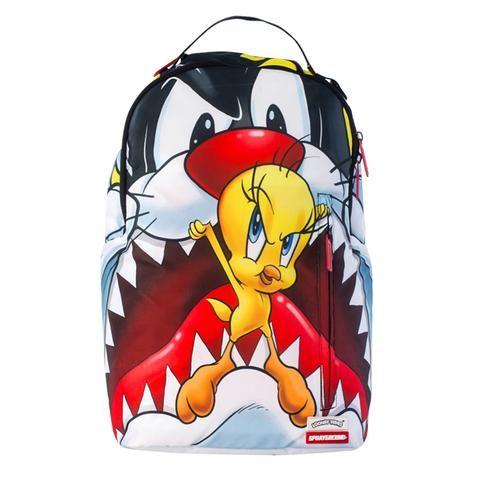 Sprayground Sylvester Vs Tweety Backpack Sprayground Cool School Bags Backpacks