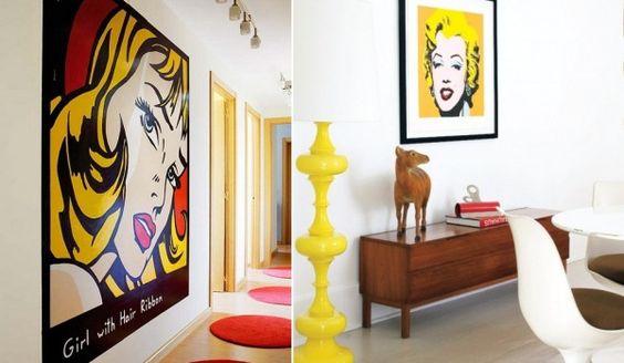 Pop art decoration images pinterest art styles pop - Art et decoration chambre ...