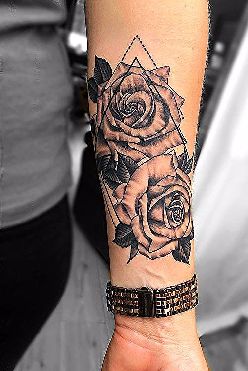 Unterarm Tatowierungen Ideen Unterarm Tatowierungen Designs Mit Bedeutung In 2020 Forearm Tattoo Women Rose Tattoo Forearm Tattoos For Women