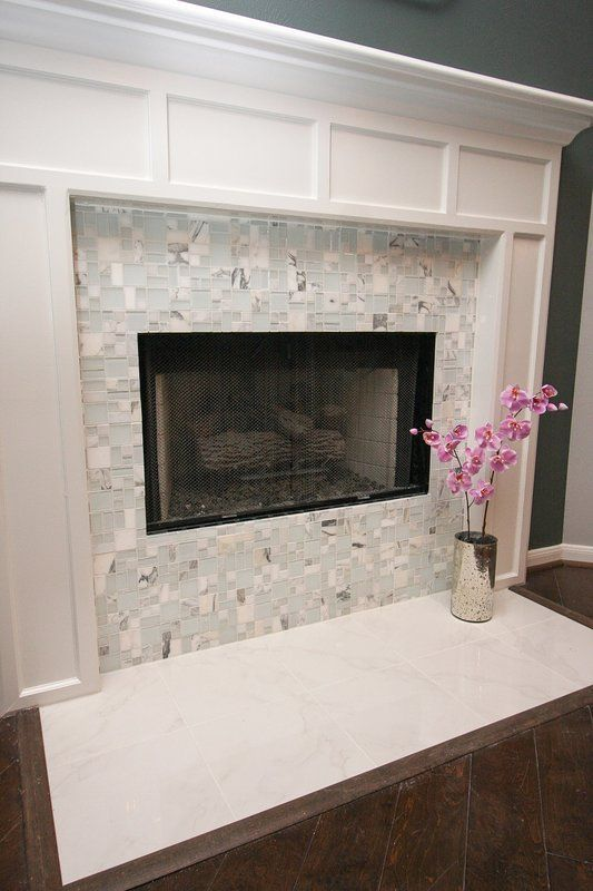 20 Awesome Fireplace Tile Ideas Modern Fireplace Modern Fireplace Tiles Fireplace Tile