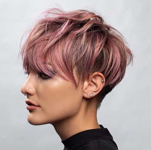 20 Long Pixie Hairstyle Jpg 500 494 Haarschnitt Kurz Pixie Frisur Kurzhaarschnitte