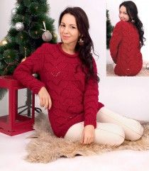 Pullover in Fancy Pattern