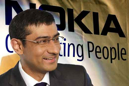 Rajeev Suri is Nokia's new CEO