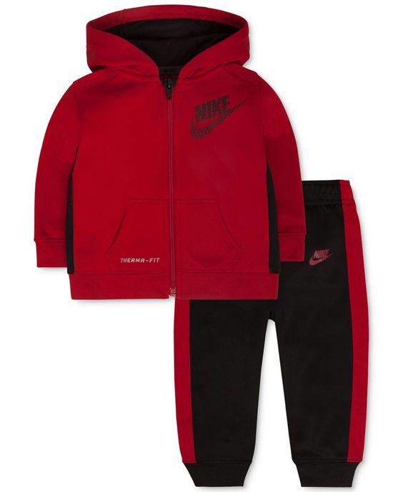 Nike Baby Boys' Ko Fleece Hoodie & Cuff Pants Set