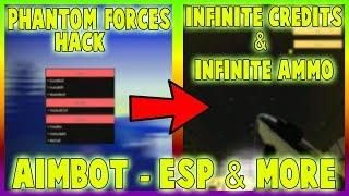 New Roblox Phantom Forces Hack Script Aimbot Esp Xray Inf