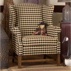 Best Classic Wingback Chair I Can Get This Chair In Blue Cream 400 x 300