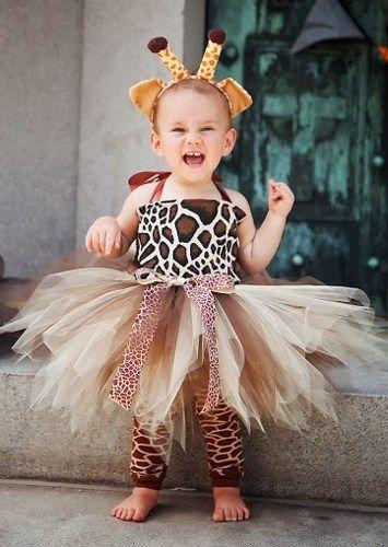 Little Giraffe Halloween Birthday Tutu Costume | HolidayBabyBoutique - Clothing on ArtFire