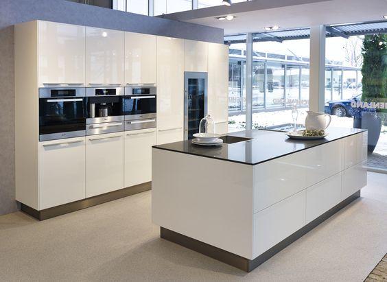 Grifflose Küchen u2022 Küchen Ekelhoff Cocinas Pinterest - küche ohne griffe