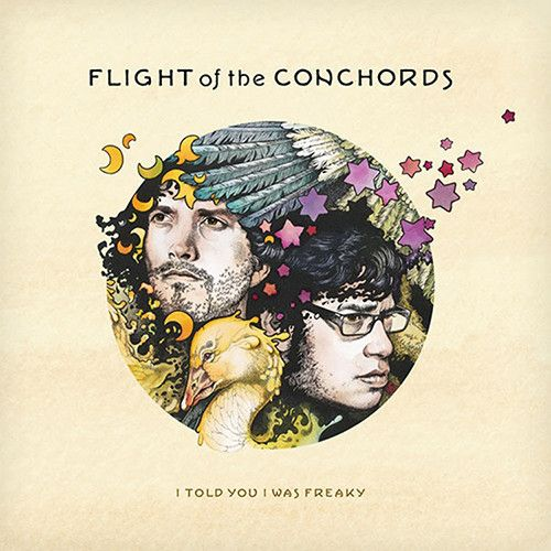 Flight Of The Conchords - I Told You I Was Freaky on Vinyl LP
