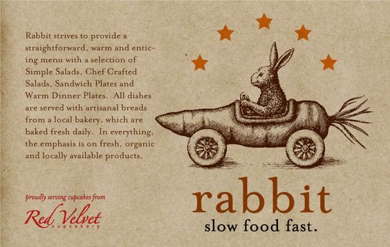 Rabbit Grill -- Yummy Salads
