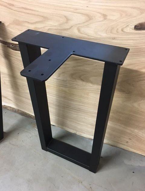 Steel Table Legs For Sale Ohiowoodlands Metal Table Legs These Steel Table Legs Are Ready To Bolt On To Your Favo In 2020 Steel Table Legs Metal Table Legs Table Legs