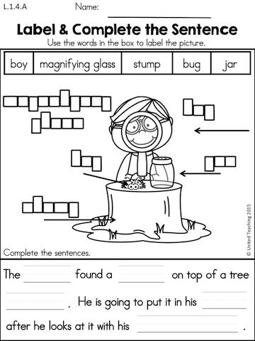 Spring 1st Grade Literacy Worksheets (Common Core Aligned ...