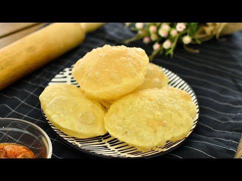 Cara Buat Roti Puri Mudah Puri 4 Bahan Tanpa Yis Sukatan Cawan Youtube Malaysian Food Food Recipes