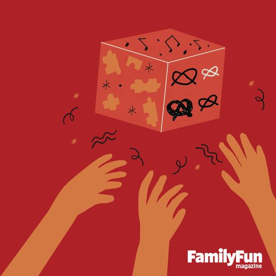 Craft an Activity Finder for Happier Playtimes: With a roll of the die, this mom helps her kids play together peacefully.