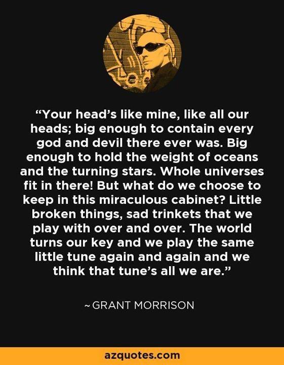 Grant Morrison. - http://ift.tt/1MueNLe
