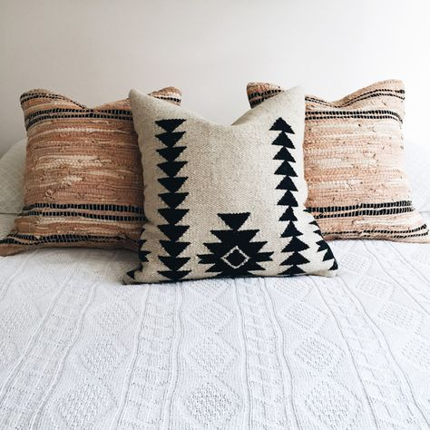 Southwestern Print Throw Pillows : Boho, Pillows and Action on Pinterest