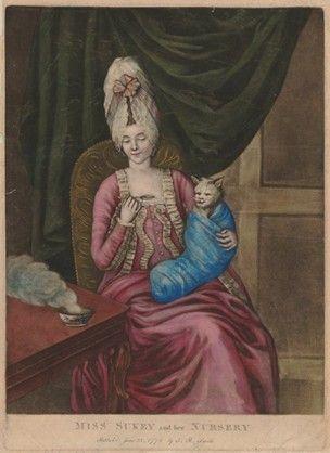 W. Humphrey after J. R. Smith   1772  Hand-coloured mezzotint: