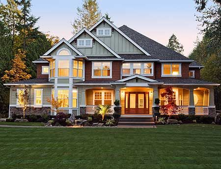 Pinterest the world s catalog of ideas for Large craftsman style home plans