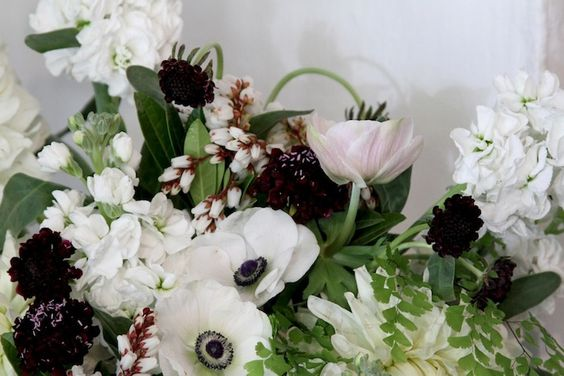 floral arrangement by Sarah Winward // honey of a thousand flowers